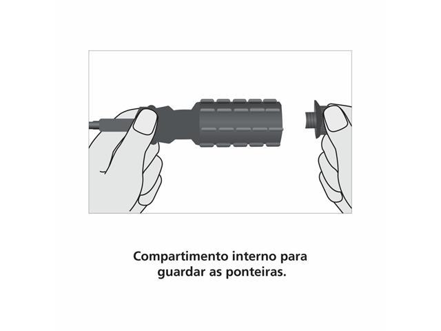 Chave de fenda Tramontina com Ponteiras  - 3