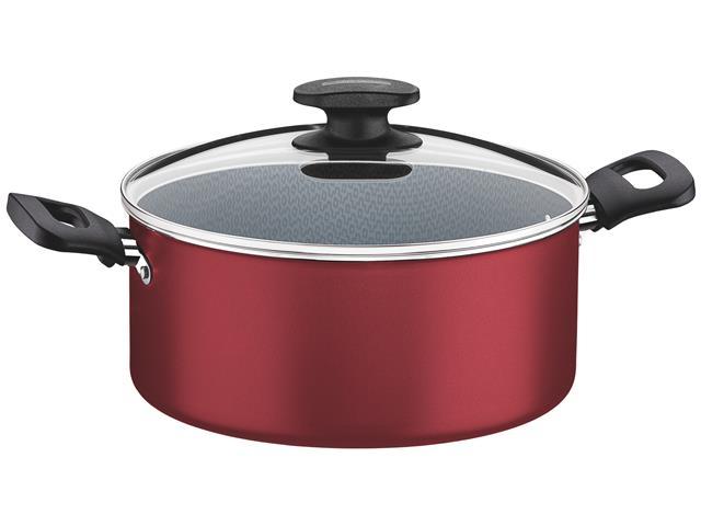 Caçarola Tramontina Loreto Alumínio Vermelha Ø 24CM