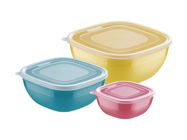 Conjunto de Potes Tramontina Mixcolor 3 Peças