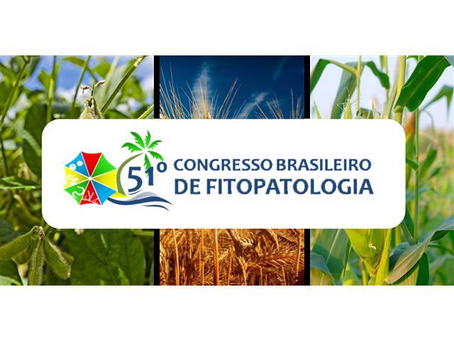 BXF19BR – Congresso Brasileiro de Fitopatologia 2019