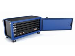 Caixa para Ferramentas Tramontina Pickup Box Azul 50 x 100 x 50 cm