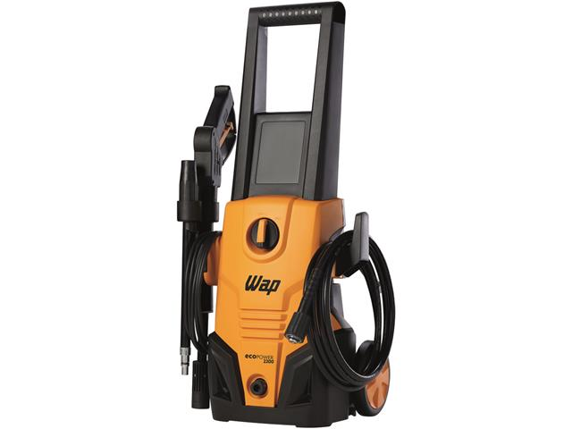 Lavadora de Alta Pressão WAP Eco Power 2200 Laranja e Preto 1500W 110V