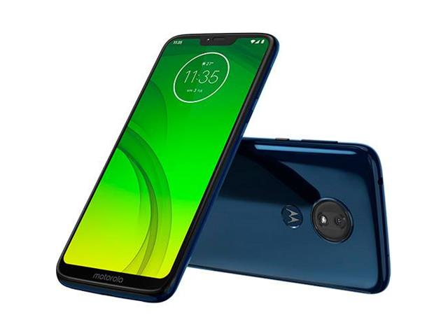 "Smartphone Motorola Moto G7 Power 64GB Duo Tela 6.2""Câm 12MP Azul Navy - 1"