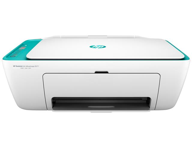 Foto 1 - Impressora Colorida Multifuncional HP Deskjet Ink Advantage 2676