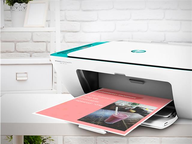 Impressora Colorida Multifuncional HP Deskjet Ink Advantage 2676 - 5