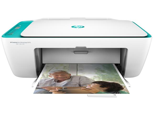 Impressora Colorida Multifuncional HP Deskjet Ink Advantage 2676 - 2