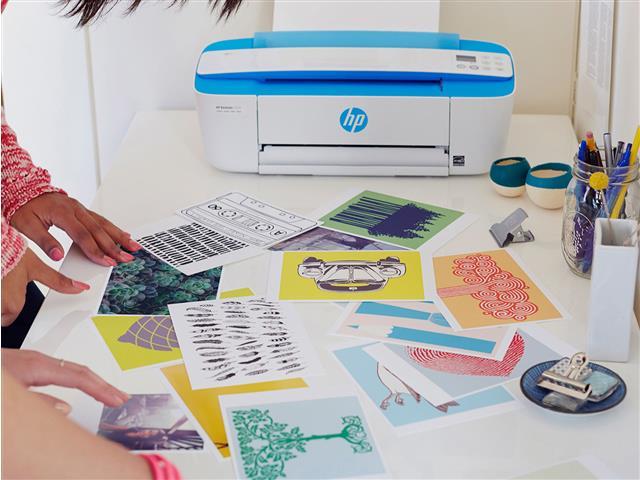Impressora Colorida Multifuncional HP Deskjet Ink Advantage 3776 - 6