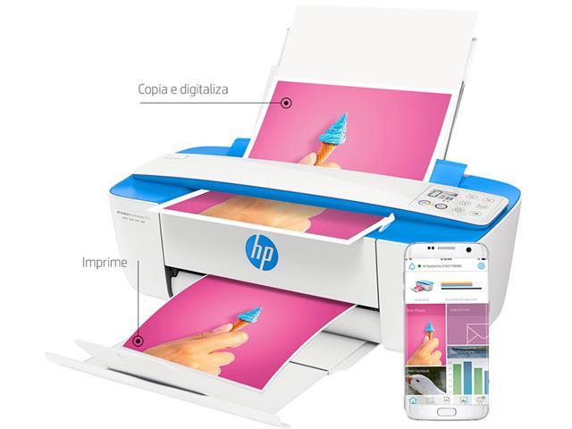 Impressora Colorida Multifuncional HP Deskjet Ink Advantage 3776 - 5