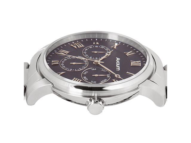 Relógio Akium Masculino Aço - 03E59GB03A - 2