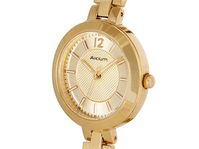 Relógio Akium Feminino Aço Dourado - 03F78FB02-IPG - 1