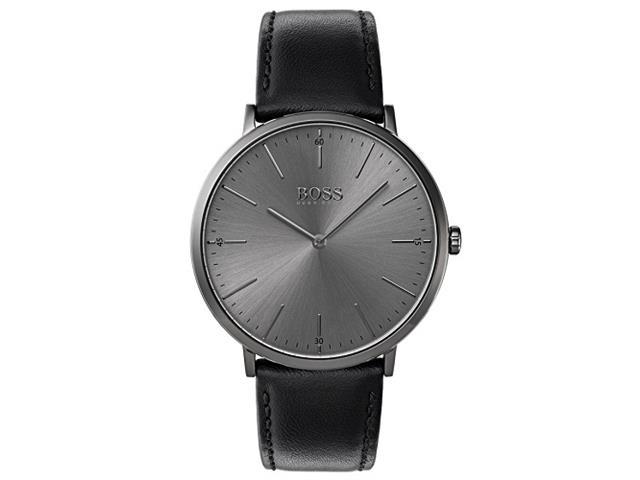Relógio Hugo Boss Masculino Couro Preto - 1513540