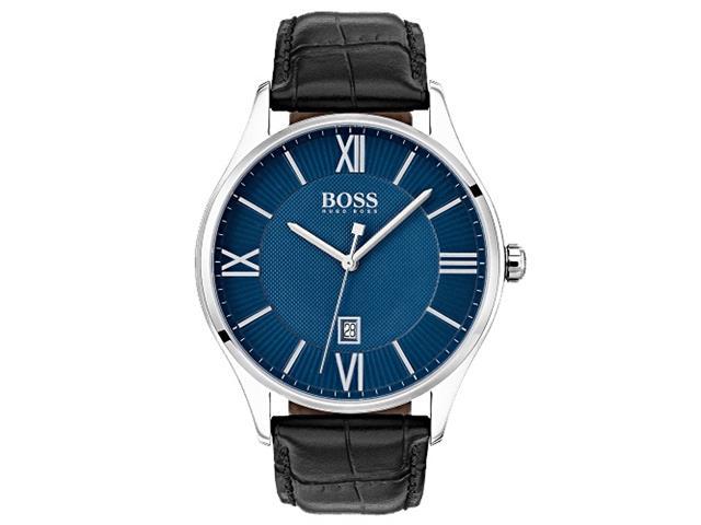 Relógio Hugo Boss Masculino Couro Preto - 1513553