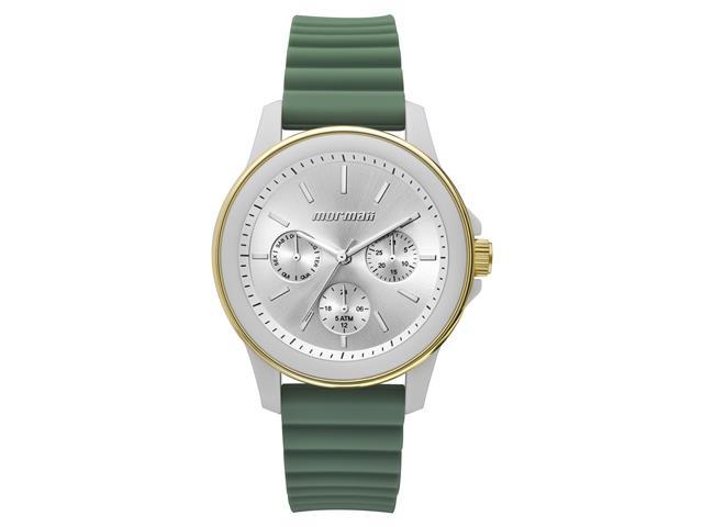 Relógio Analógico Mormaii MO6P29AF/8V Feminino Dourado e Verde