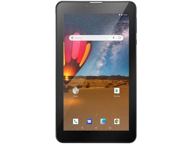 Tablet Multilaser M7 3G Plus 16GB Dual Chip 1GB RAM Tela 7 Preto - 1