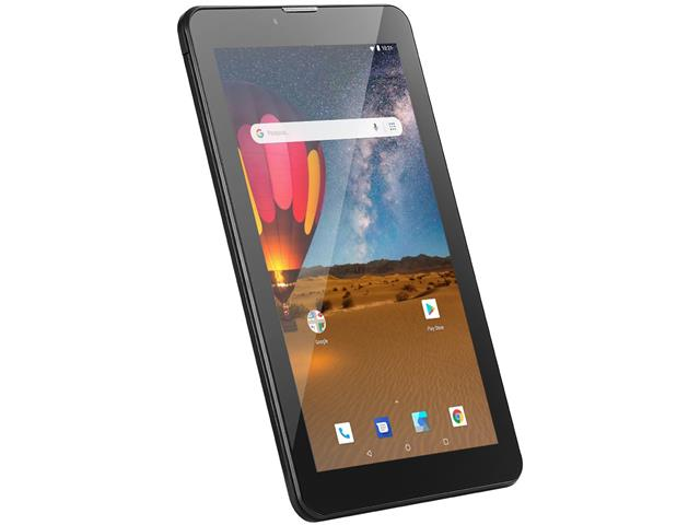 Tablet Multilaser M7 3G Plus 16GB Dual Chip 1GB RAM Tela 7 Preto - 3