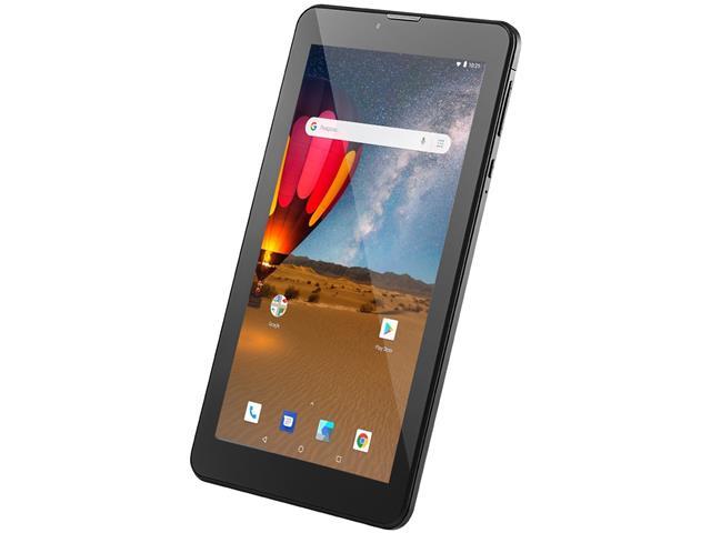 Tablet Multilaser M7 3G Plus 16GB Dual Chip 1GB RAM Tela 7 Preto - 4