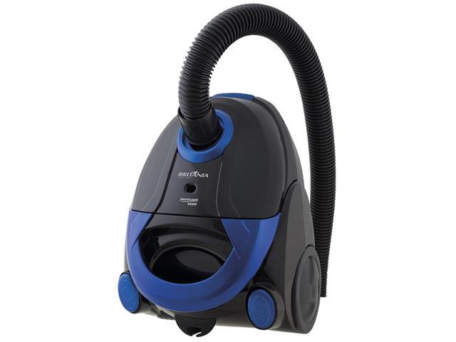 Aspirador de Pó Britânia Faciclean 1420 Preto e Azul 1200W 220V - 2