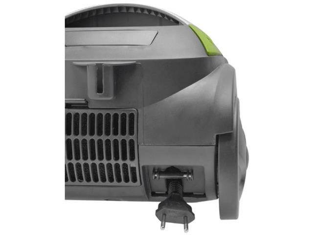 Aspirador de Pó Britânia Faciclean 1640N Preto Branco Verde 1200W 220V - 6