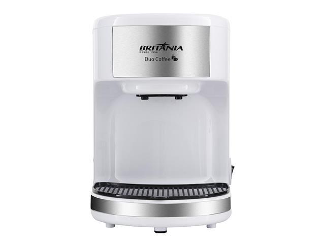 Cafeteira Elétrica Britânia Duo Coffee 2 Xícaras Branca 450W 220V - 3