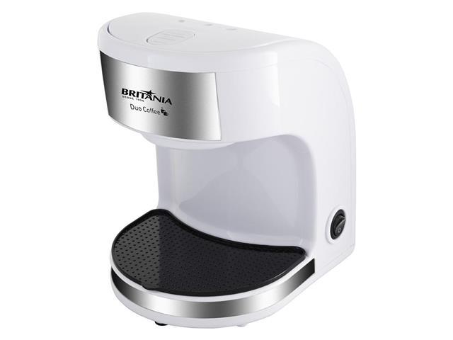 Cafeteira Elétrica Britânia Duo Coffee 2 Xícaras Branca 450W 220V - 1