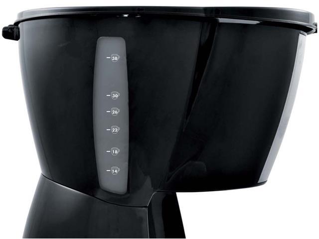 Cafeteira com Display Digital Britânia CP38 Preta 38 Xícaras 800W 220V - 4