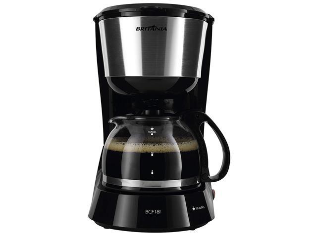 Cafeteira Elétrica Britânia BCF18I Preta 18 Xícaras 550W 110V - 2