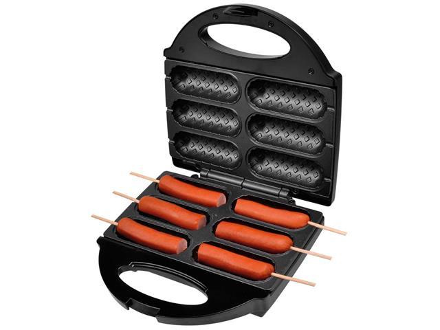 Crepeira e Hot Dog Britânia Six - Preta - 110 V - 12