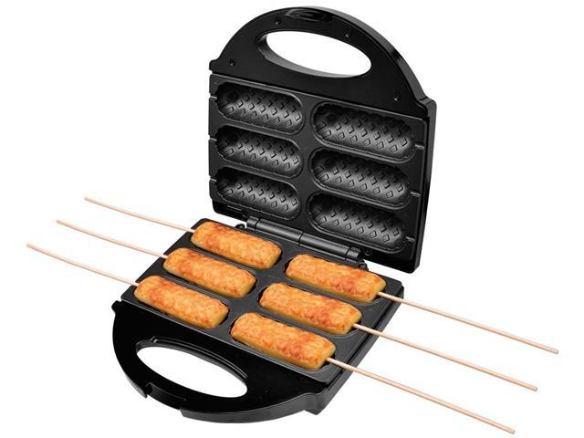 Crepeira e Hot Dog Britânia Six - Preta - 110 V - 11