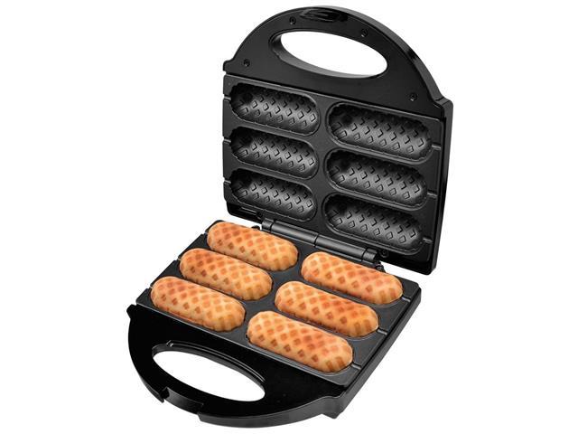 Crepeira e Hot Dog Britânia Six - Preta - 110 V - 13