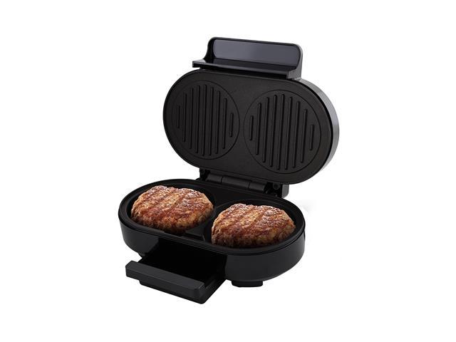 Grill Britânia Gourmet Burger Preto 1000W 220V - 3