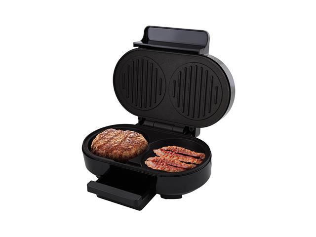 Grill Britânia Gourmet Burger Preto 1000W 220V - 4