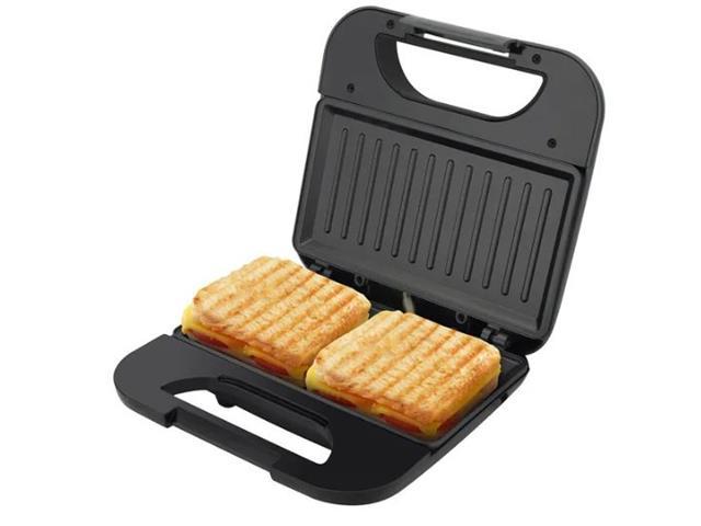 Grill e Sanduicheira Britânia Toast BGR01P Preto 750W 220V - 2