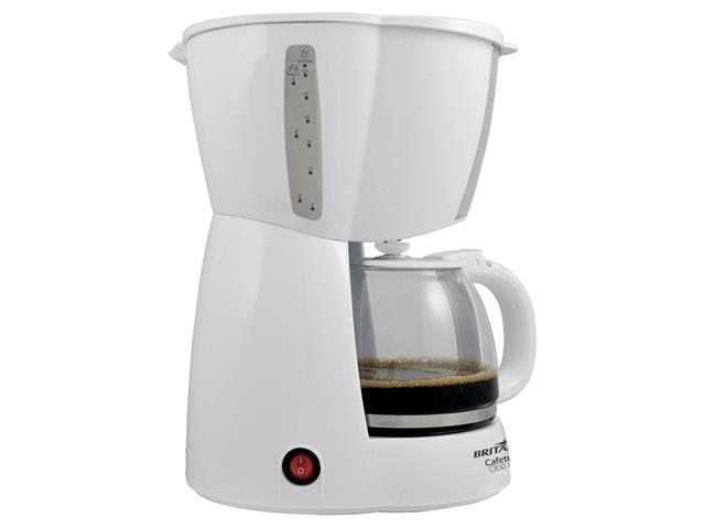 Cafeteira Elétrica Britânia CB30 Branca 30 Xícaras 800W - 1