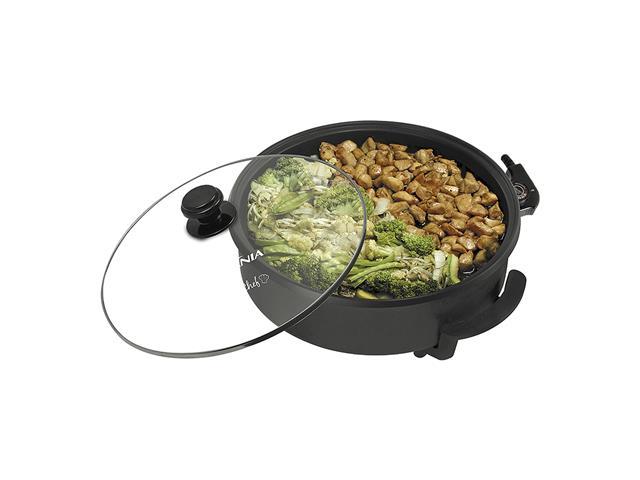 Panela Elétrica Britânia Cook Chef 5 em 1 Preta 1200W - 2