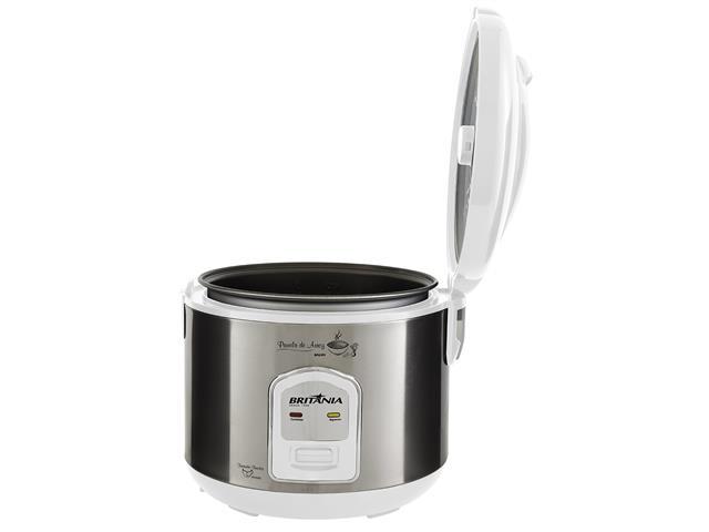 Panela de Arroz Elétrica Britânia BPA5BI 5 Xícaras Branca 400W - 3