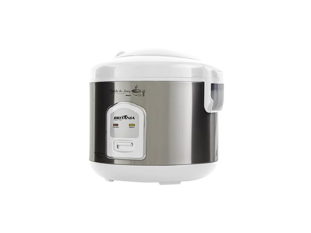 Panela de Arroz Elétrica Britânia BPA5BI 5 Xícaras Branca 400W - 1