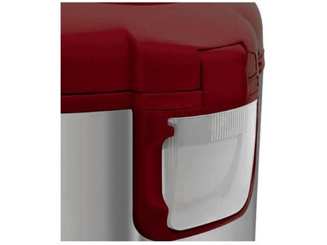 Panela de Arroz Elétrica Britânia Prime 10 Xícaras Vermelha 700W - 1
