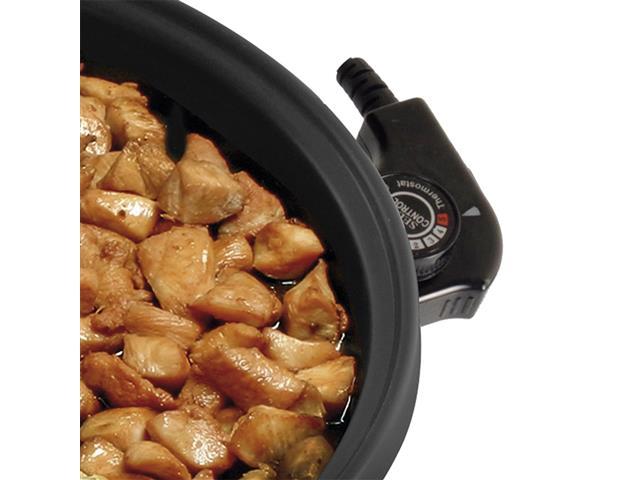 Panela Elétrica Britânia Cook Chef 5 em 1 Preta 1200W 110V - 2