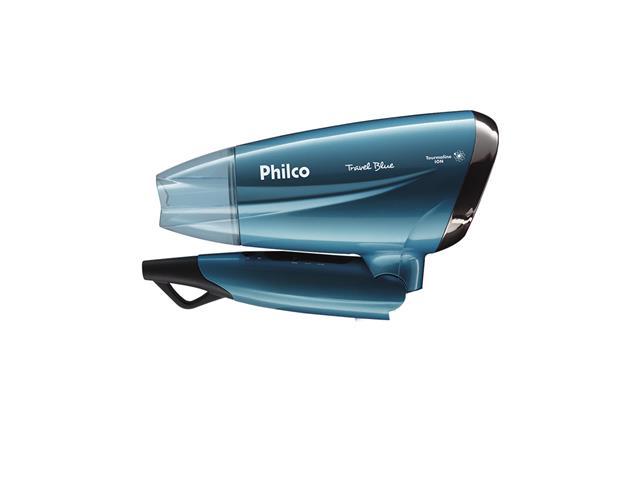 Secador de Cabelo Philco Travel Blue PSC02 1200W Bivolt - 2