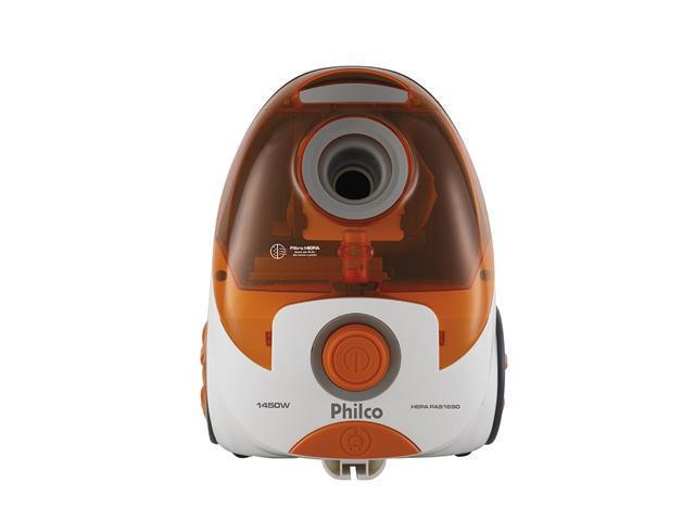 Aspirador de Pó Philco PAS1690 com Filtro Hepa Branco e Laranja 110V - 2