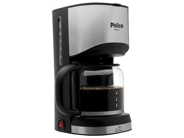 Cafeteira Elétrica Philco PH17 15 Xícaras 550W