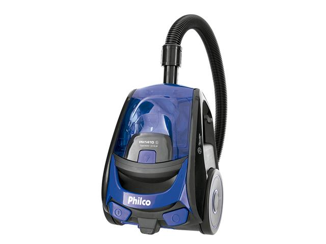 Aspirador de Pó Philco PH1410 com Filtro Hepa Azul e Preto 1400W - 1