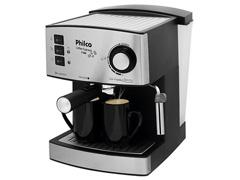 Cafeteira Elétrica Philco Coffee Express 15 Bar Prata 850W - 0