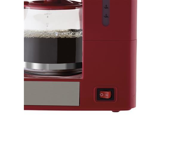 Cafeteira Elétrica Philco PH16 Vermelha e Inox 15 Xícaras 550W - 3