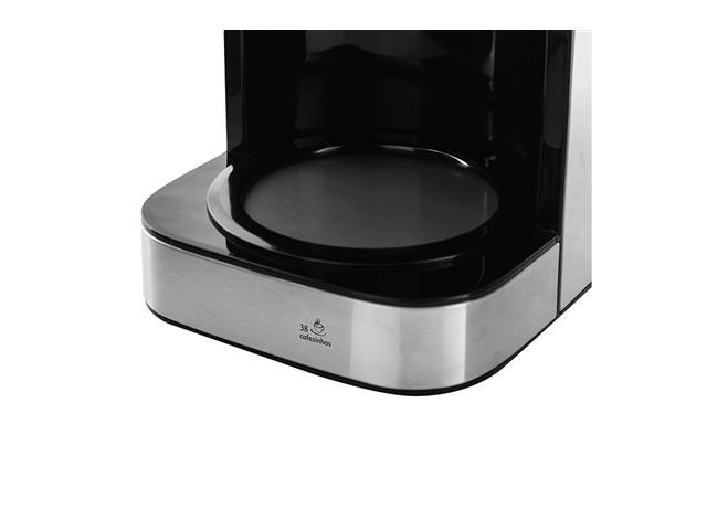 Cafeteira Elétrica Philco PCFD38 Platinum 38 Xícaras 800W - 2
