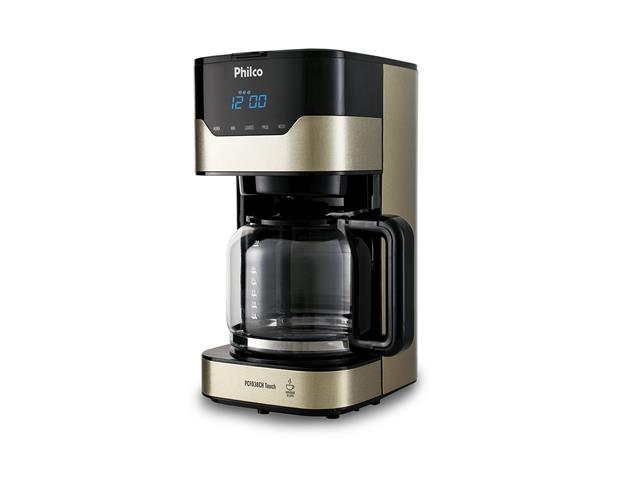 Cafeteira Elétrica Philco PCFD38CH Touch Bronze 38 Xícaras 800W