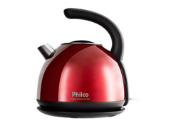 Chaleira Elétrica Philco Classic Inox Red PHC20V 1,7 Litros - 0