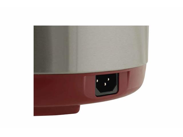 Panela de Pressão Elétrica Philco Vermelha 4 Litros 800W - 5