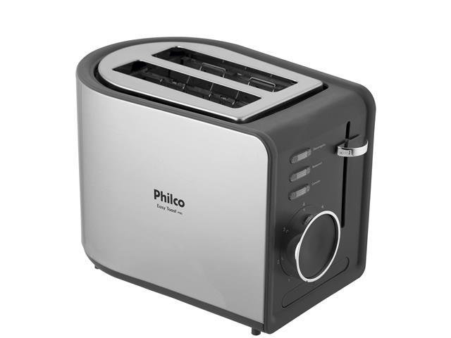 Torradeira Elétrica Philco R2 Easy Toast Preta 850W - 1