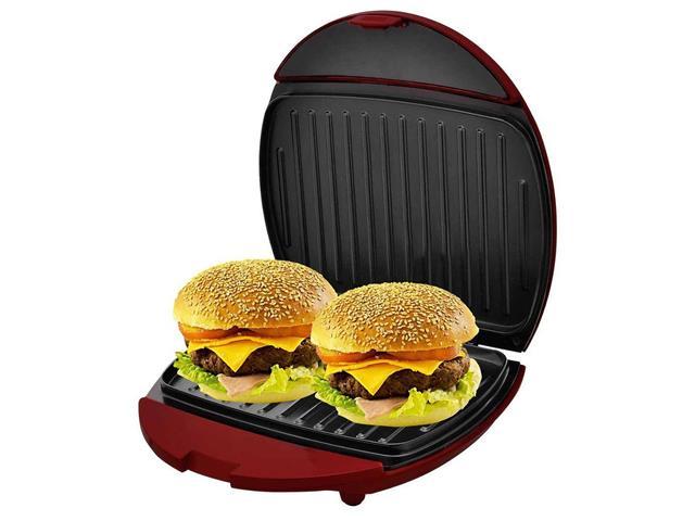 Mini Grill e Sanduicheira Philco Inox Vermelho 750W - 5